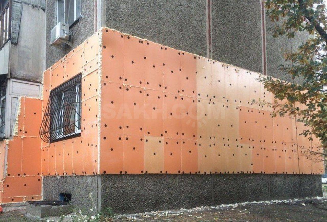 Как утеплить фасад пенопластом своими руками ⋆ прорабофф.рф