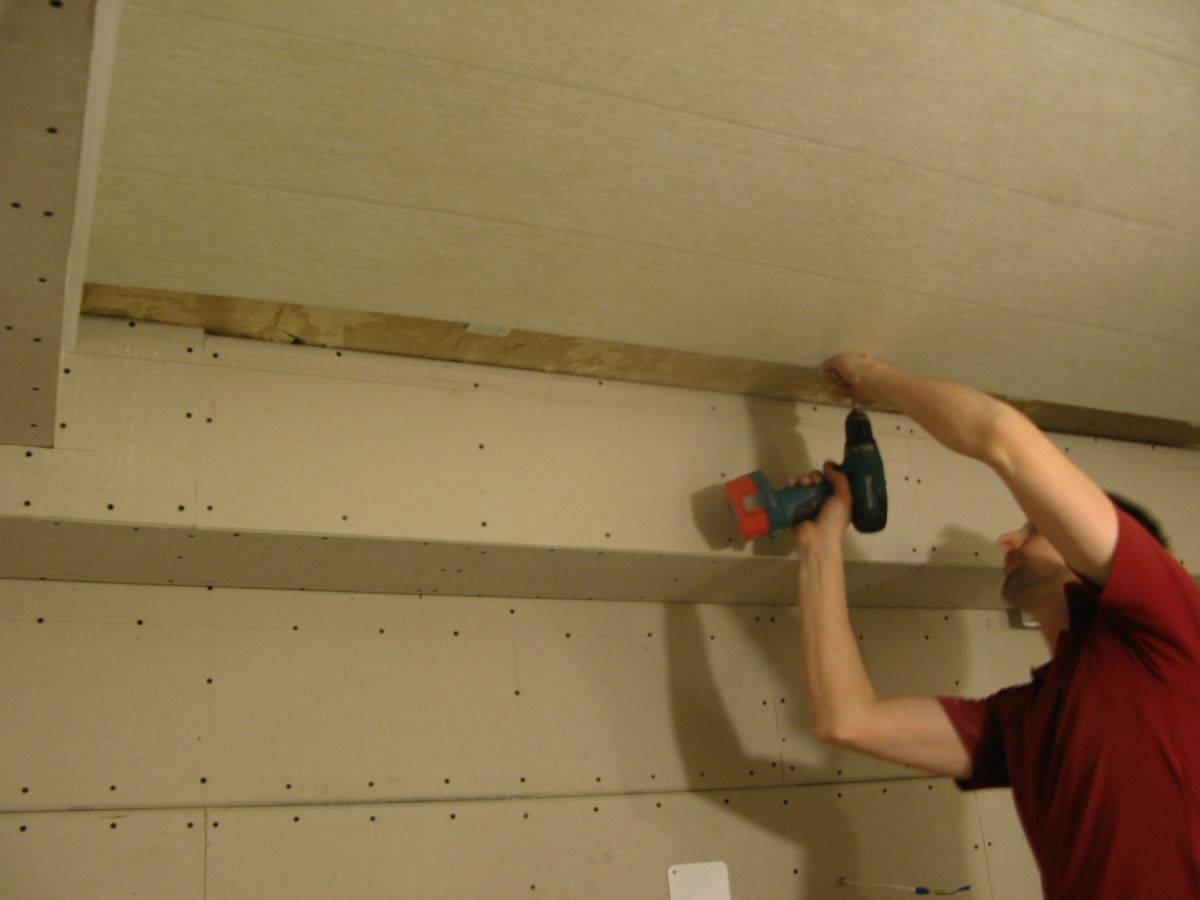 Как крепить панели пвх к потолку - подробная инструкция!
