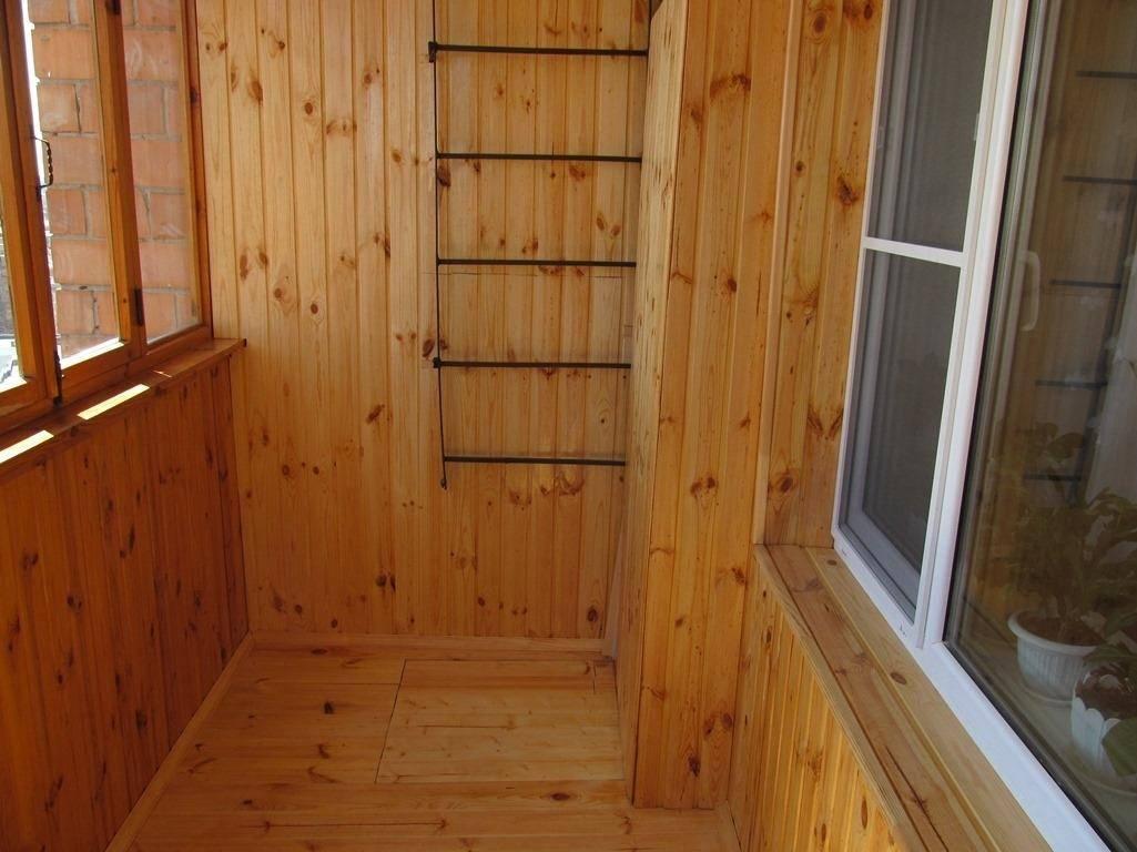 Как обшить балкон вагонкой, утеплитель для балкона - подробная инструкция!