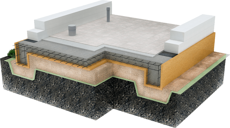 Фундамент плита (плитный) — технология строительства своими руками под частный дом (пошаговая инструкция)
