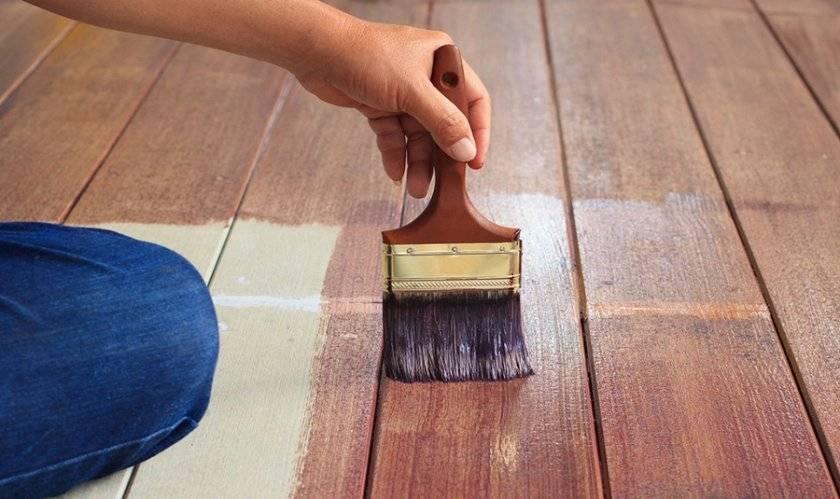 Деревянный пол в гараж: как сделать и покрасить своими руками, краска для досок, как настелить, чем покрыть и обработать основание, материалы для покраски