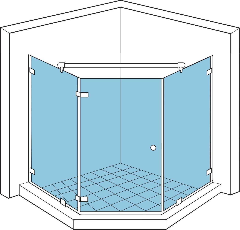 Как выбрать душевую кабину с учётом материалов, размеров и её типа