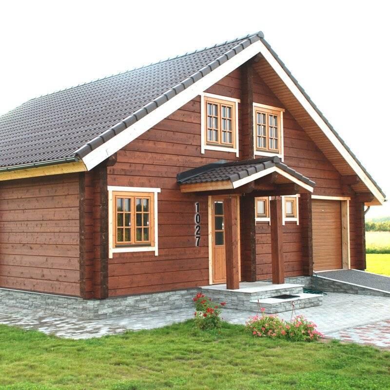 Деревянный или кирпичный дом | строительный блог