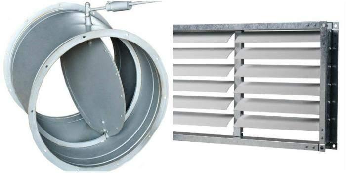 Принцип работы и типы устройств обратных клапанов для вентиляции