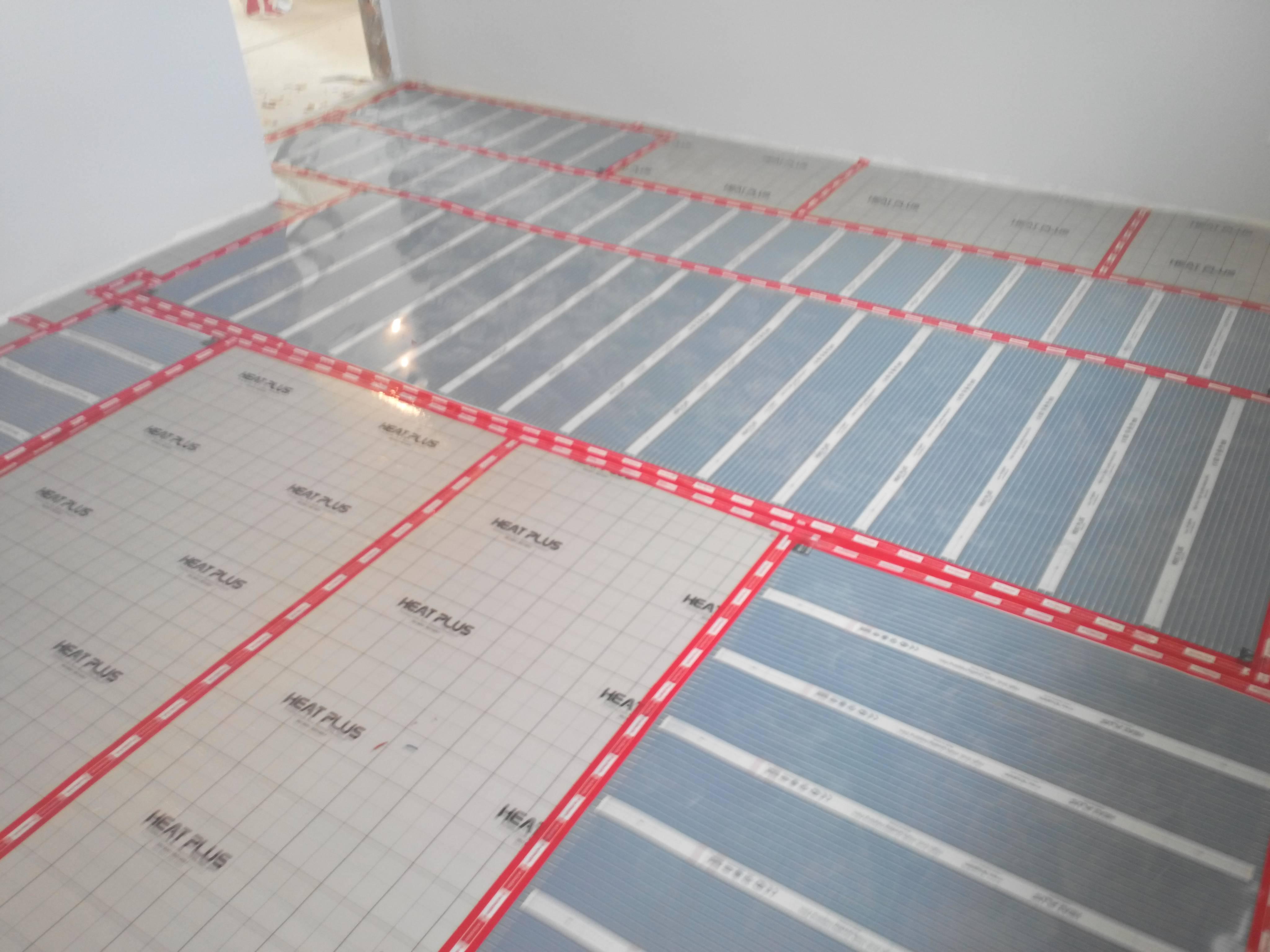 Электрический теплый пол под плитку: укладка и монтаж своими руками