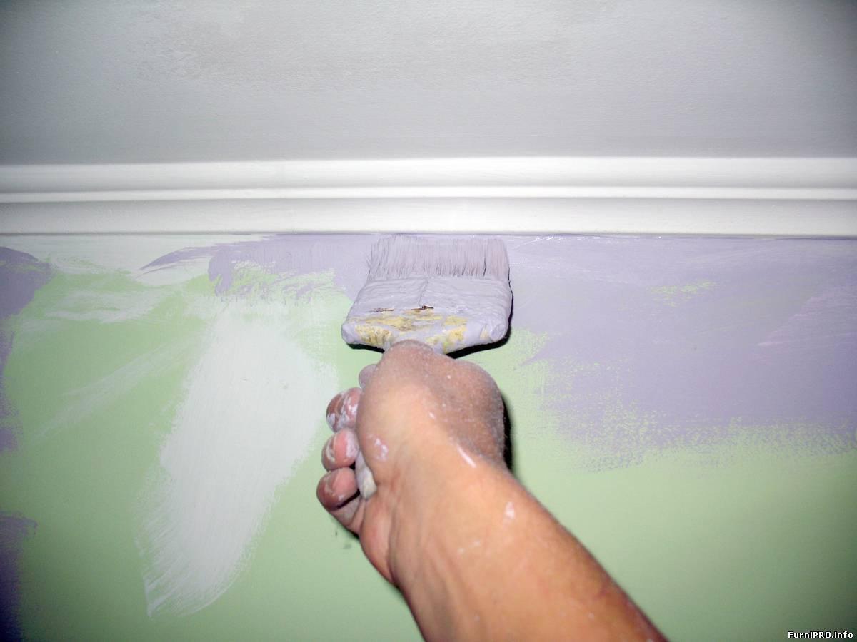Краска для потолка в квартире: какой лучше красить