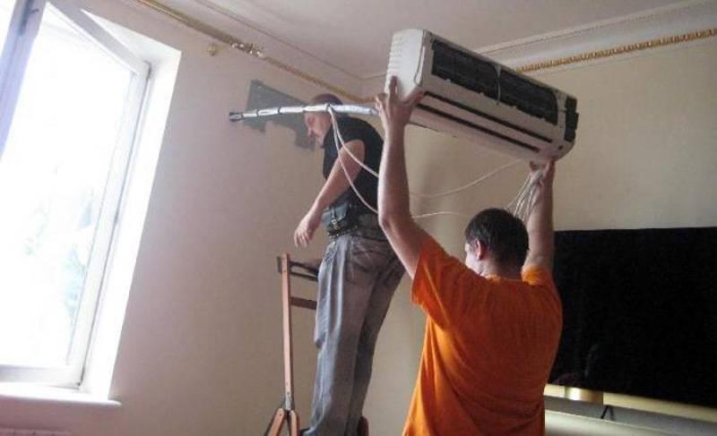 Установка кондиционера своими руками - пошаговая инструкция, как правильно и самостоятельно сделать монтаж в квартире и что для этого понадобится