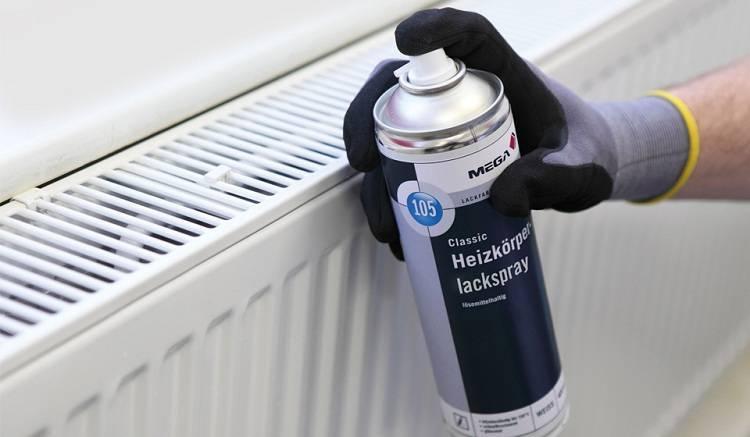 Краска для радиаторов отопления: виды, процесс подготовки и покраски