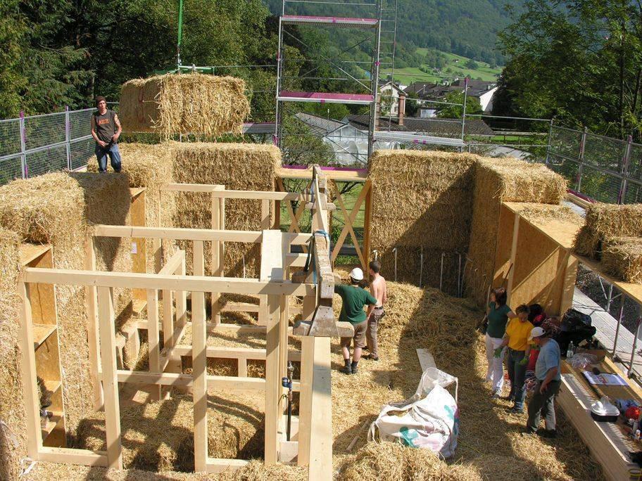 Дома из глины и соломы технология - всё о строительстве