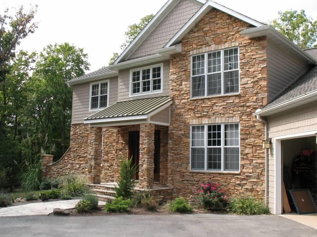 Технология облицовки фасада натуральным камнем