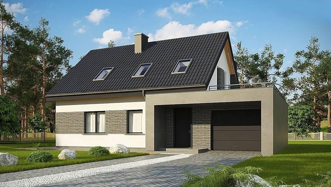 Варианты отделки фасада частного дома облицовочным кирпичом  + фото домов