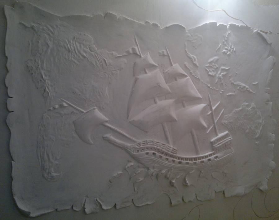 Барельеф на стене своими руками: пошаговые действия для начинающих