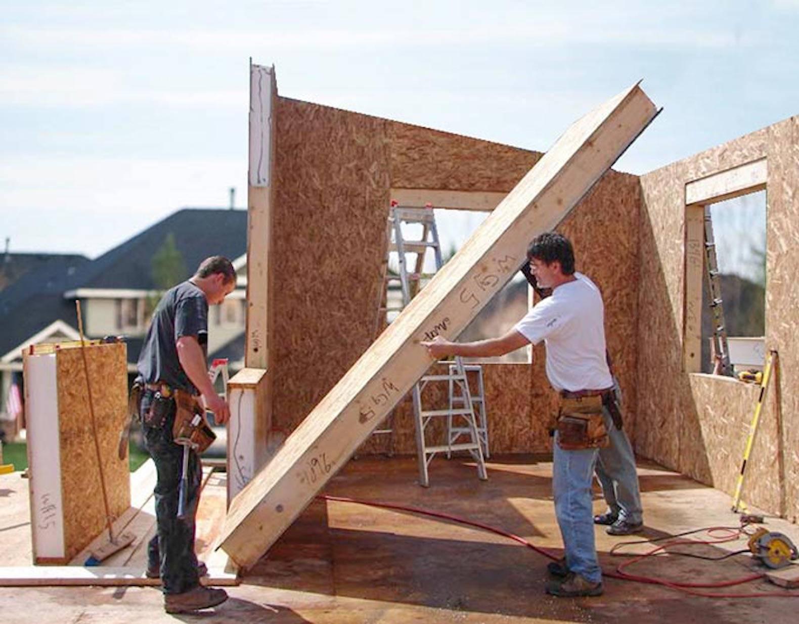 Технология строительства домов изсип-панелей