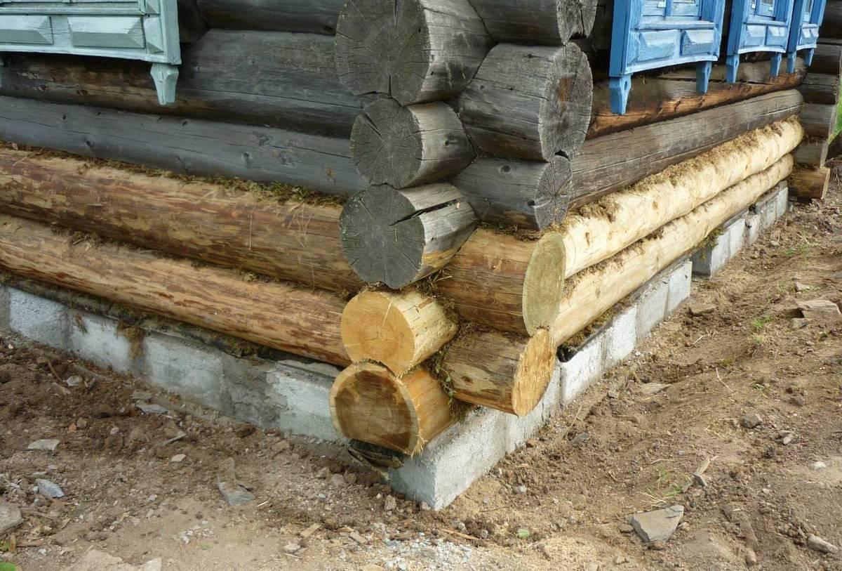 Как поднять деревянный дом самостоятельно