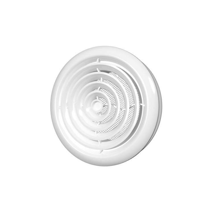 Вентиляционные решетки и монтаж потолочного диффузора в ванной