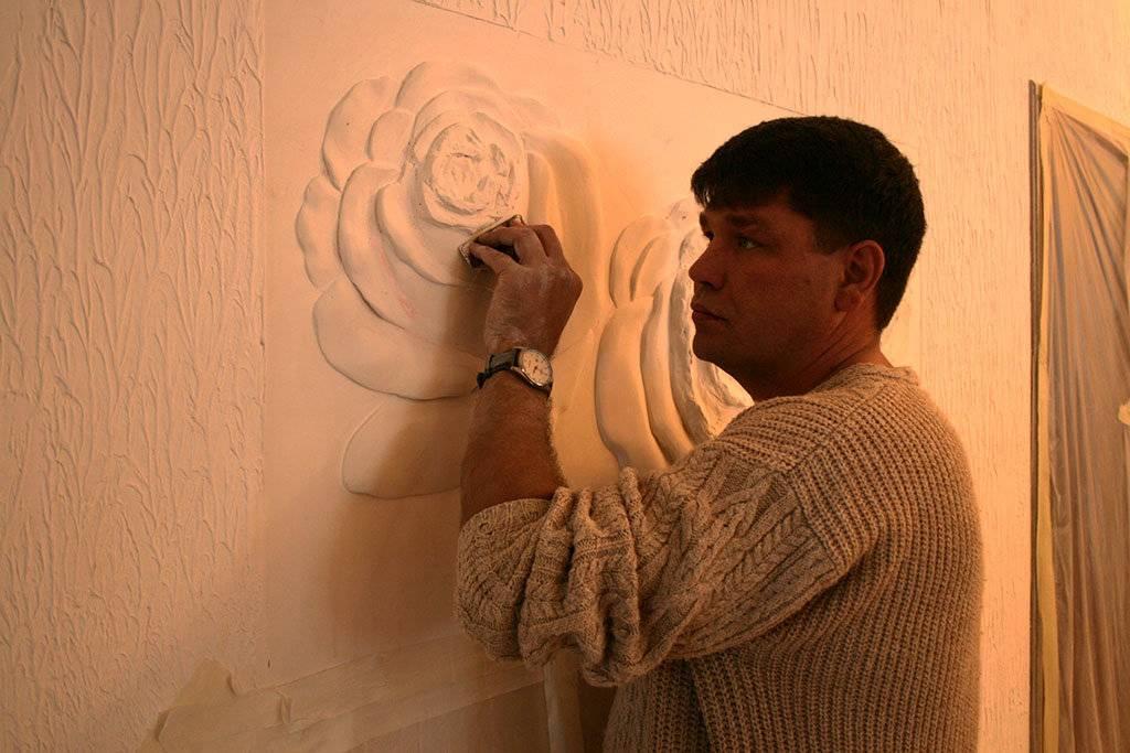 Гипсовый барельеф на стене своими руками