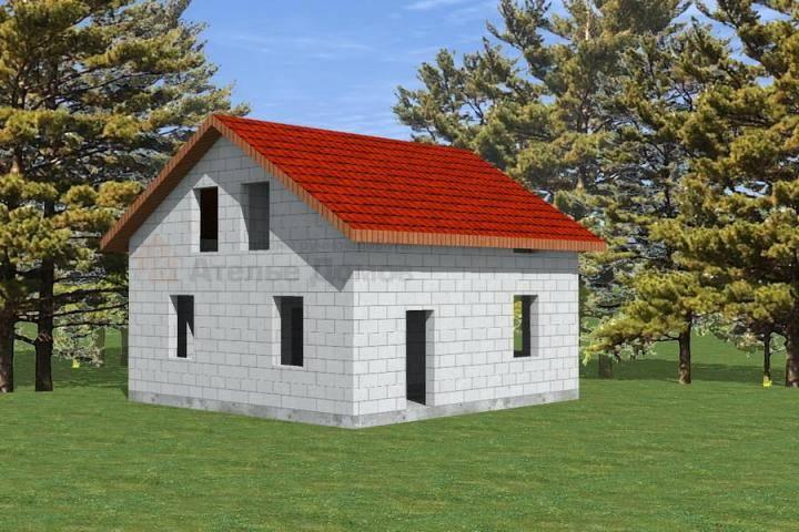 Экономные дома из пеноблоков