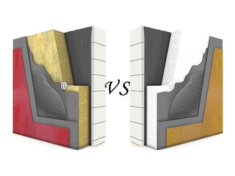 Что лучше: пенопласт или каменная вата?