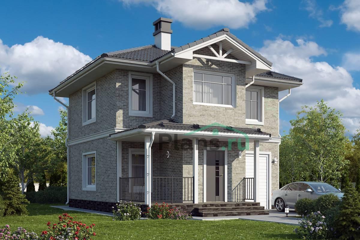 Проекты домов из газобетона (газоблоков): бесплатные, типовые
