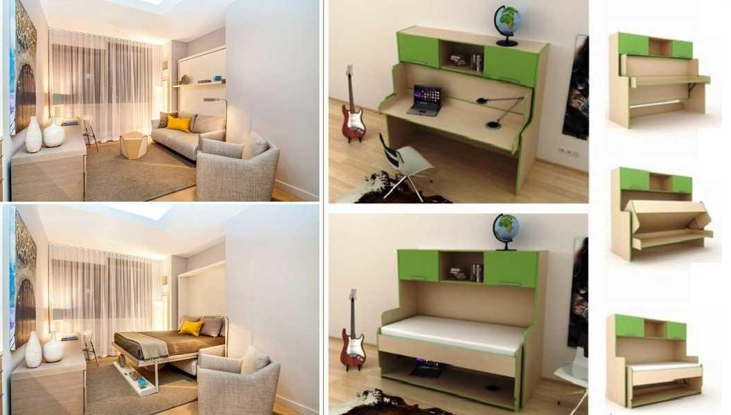 Трансформируемая мебель (35 фото) | мебельный журнал - все о мебели