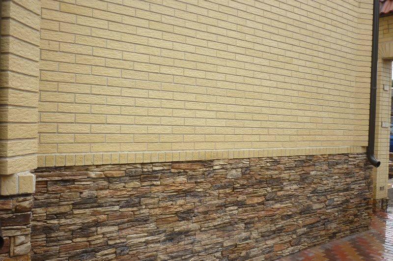 Облицовка цоколя: 85 фото оптимальных вариантов украшения дома