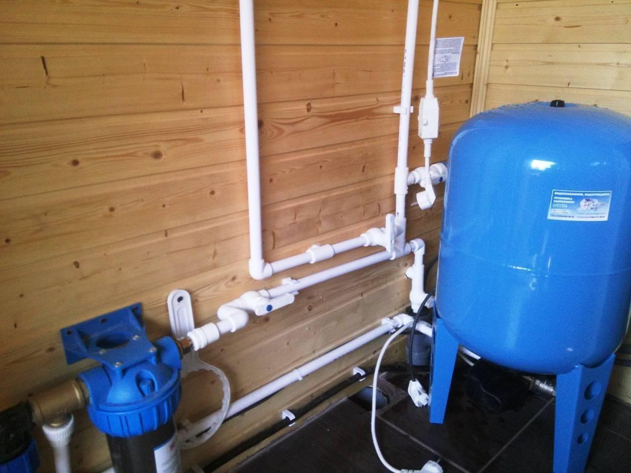 Как не заморозить водопровод на даче?