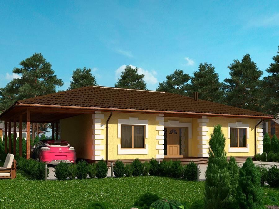 Проекты домов и коттеджей из sip (сип) панелей – плюсы и минусы технологии, примеры проектов, цены