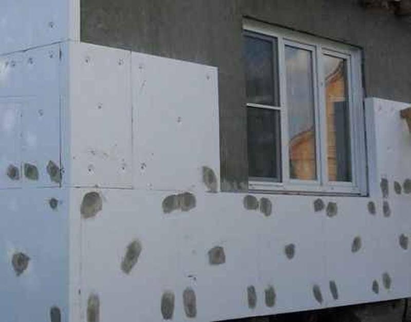Утепление стен пенопластом своими руками - подробная инструкция