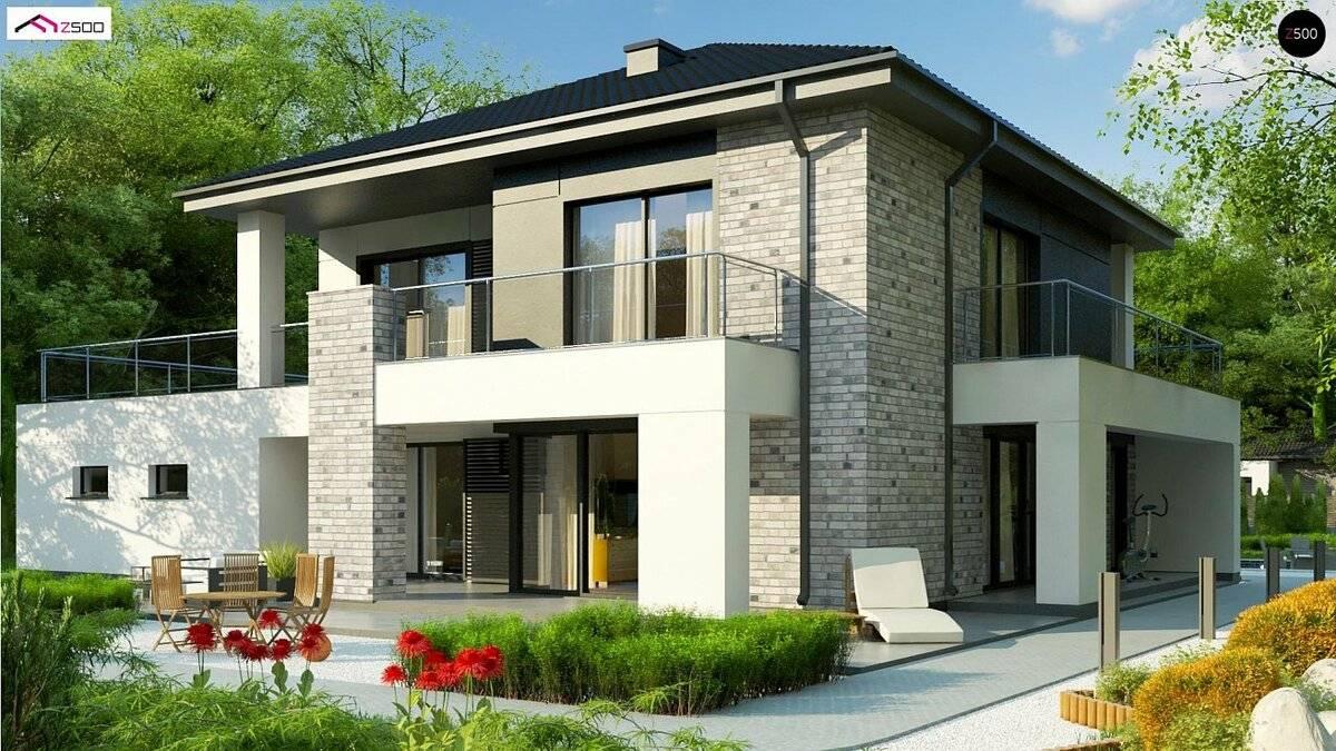 Готовые проекты домов из газобетона и пеноблоков | каталог компании парфенон
