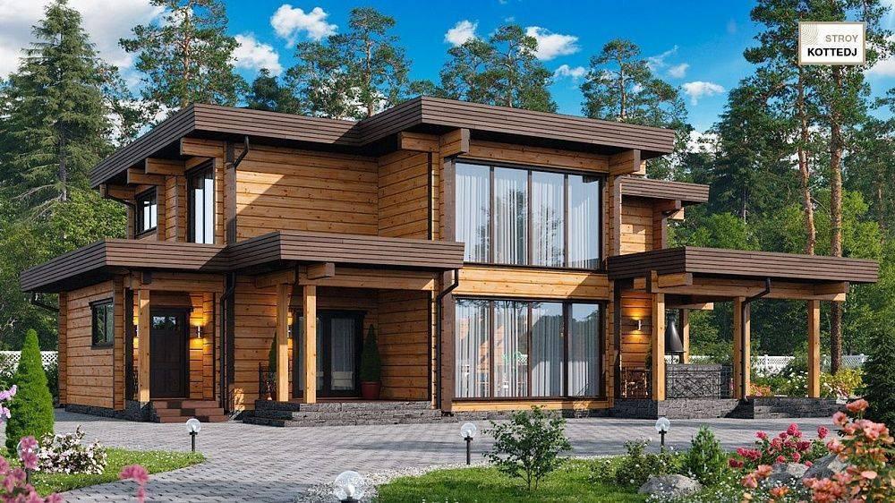 Деревянные панорамные окна - цены, виды, преимущества, недостатки
