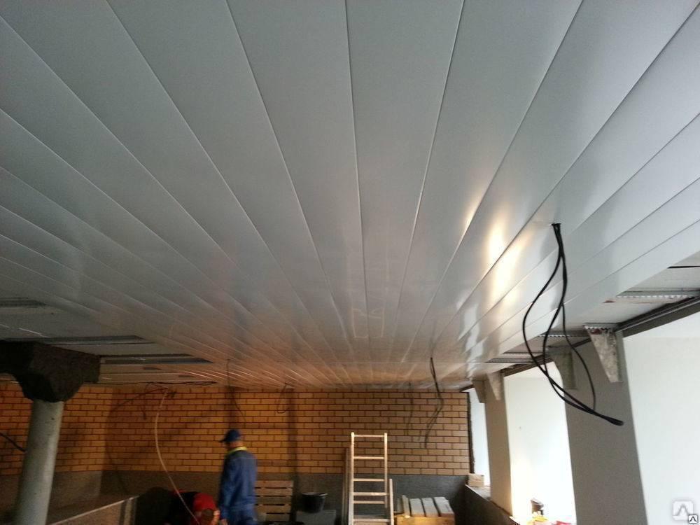 Монтаж реечного потолка своими руками: пошаговая инструкция
