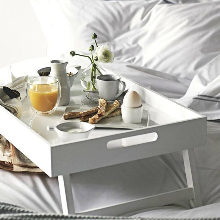 Своими руками: как сделать столик для завтрака | pricemedia