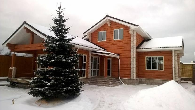 Преимущества дома из лафета по сравнению с кирпичным домом