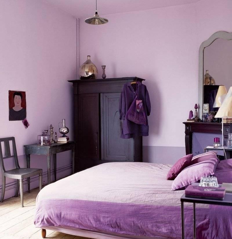Сочетание фиолетового цвета в таблице. фото   lookcolor