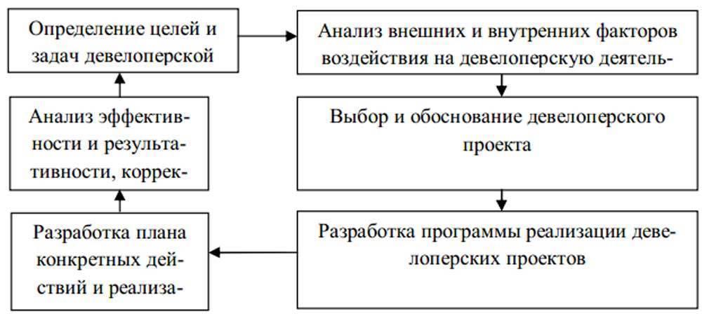 Девелопмент: структура и задачи девелоперской компании
