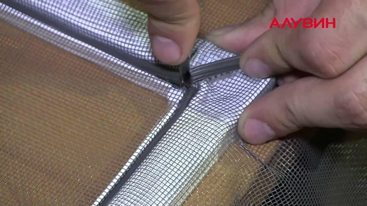 Как сделать самодельную москитную сетку, 3 способа изготовления