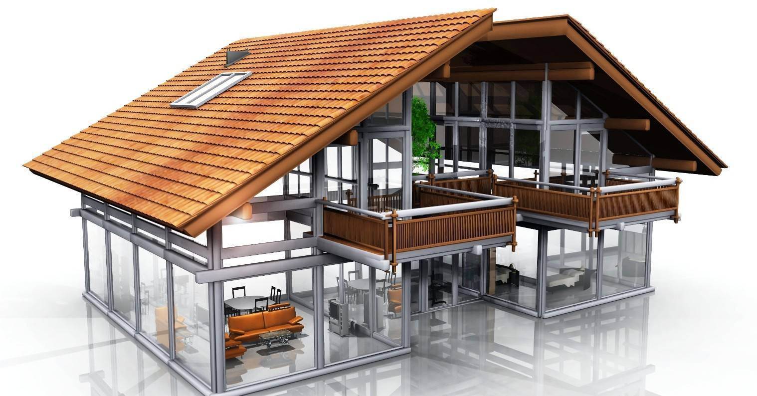 Как построить дом из профильной трубы по технологии каркасного строительства