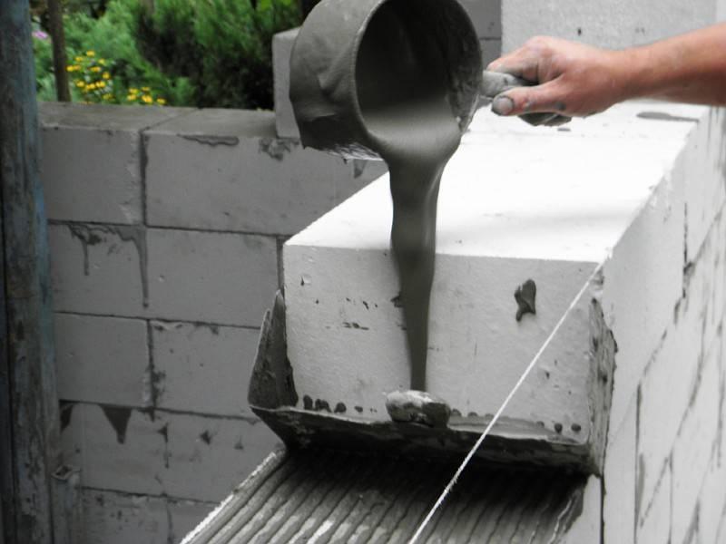 Технология армирования и укладки блоков из газосиликата