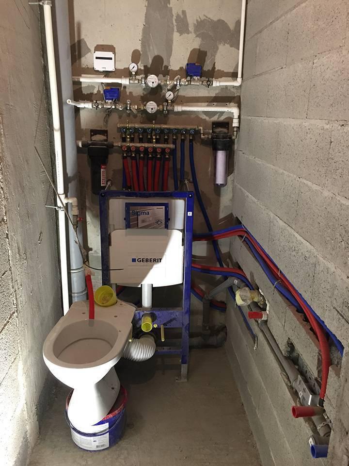 Разводка труб водоснабжения в квартире в москве и московской области