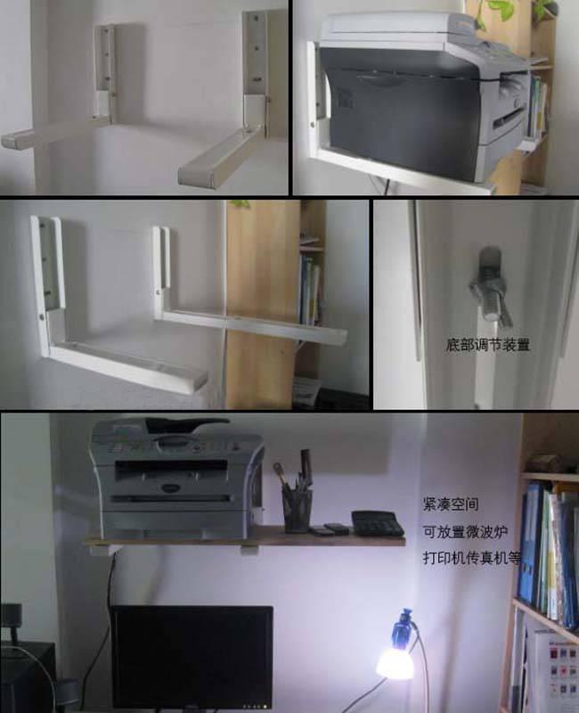 Полка для микроволновки на стену