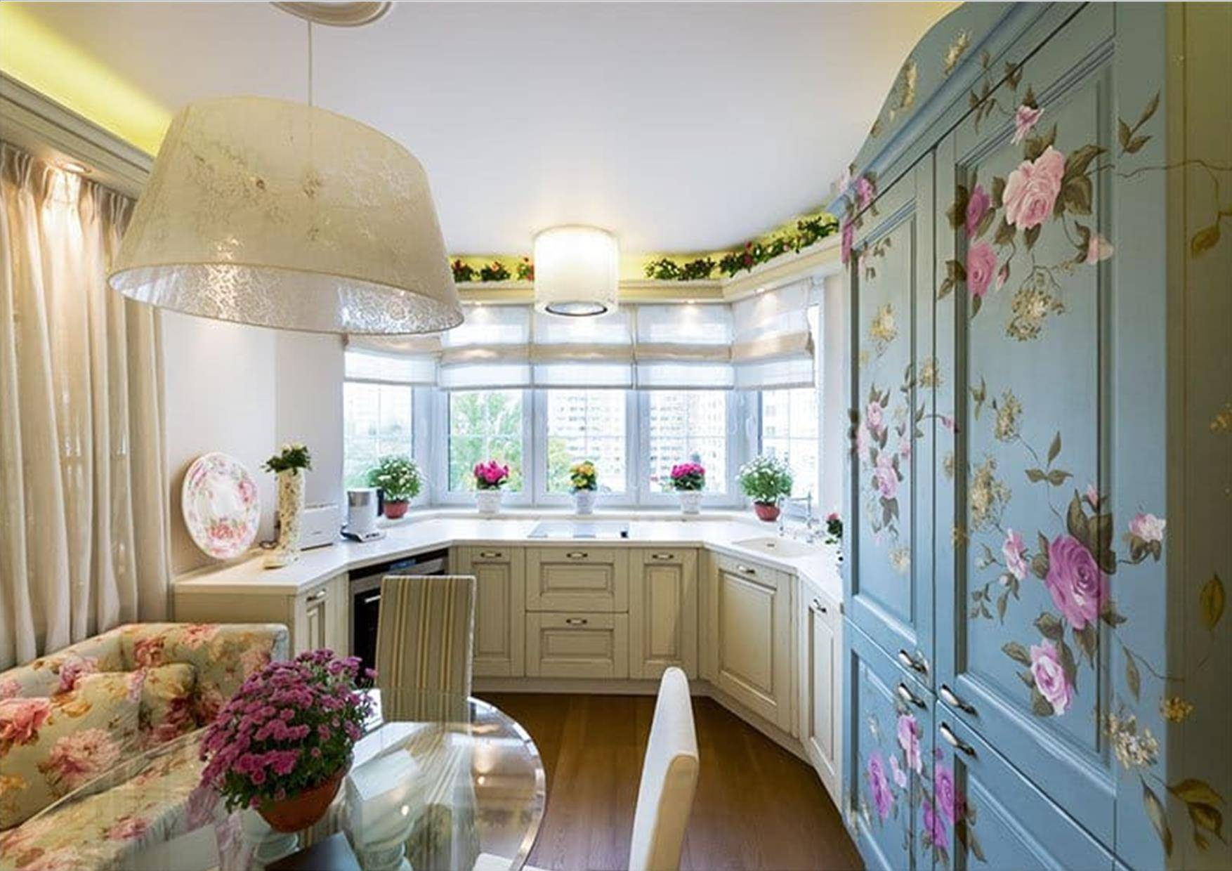 Дизайн кухни-гостиной с эркером: что такое кухня с эркером, планировка кухни, важные нюансы, полезные советы