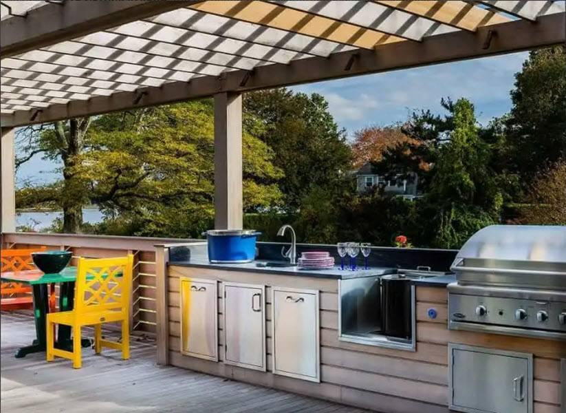 Летняя кухня: пошаговые инструкции по строительству и требования к постройке