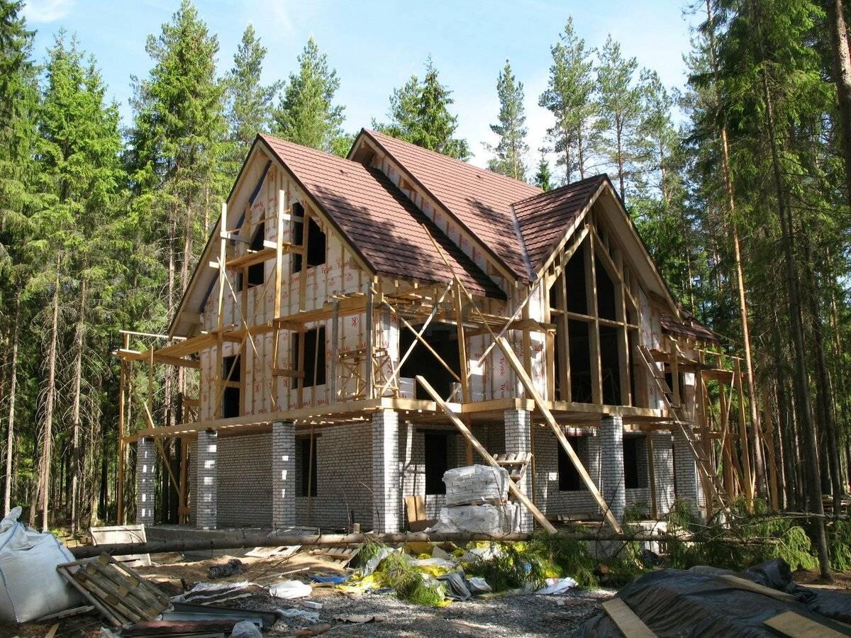 Как построить деревянный дом и выбор материала