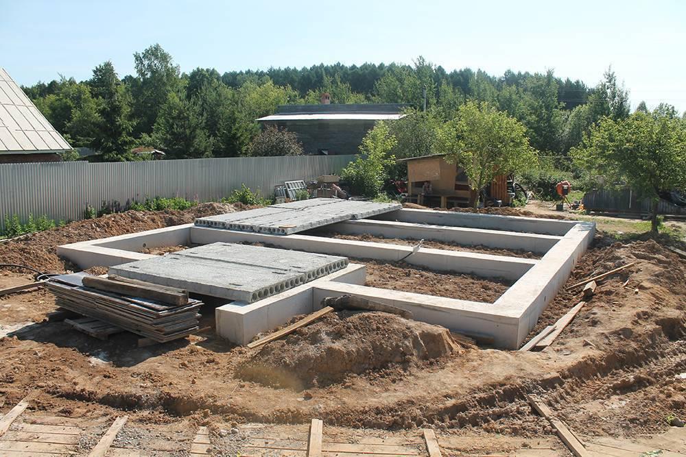 Руководство по строительству мелкозаглубленного ленточного фундамента для дома из газобетона