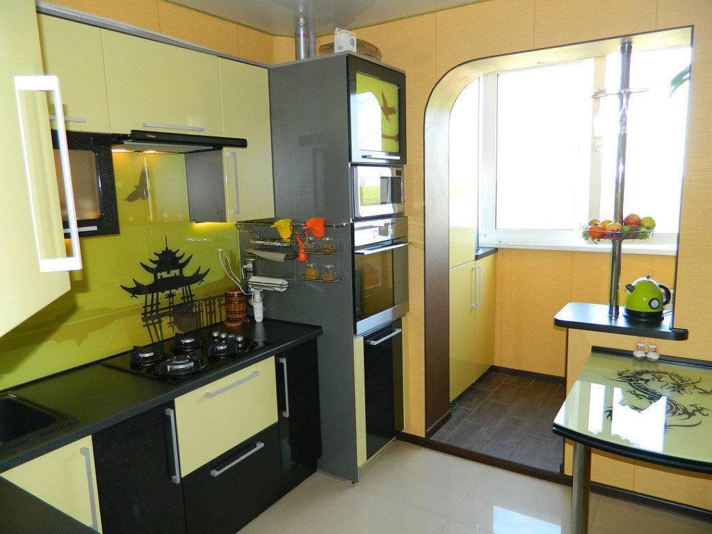 Варианты дизайна кухни 9 кв. м в панельном доме