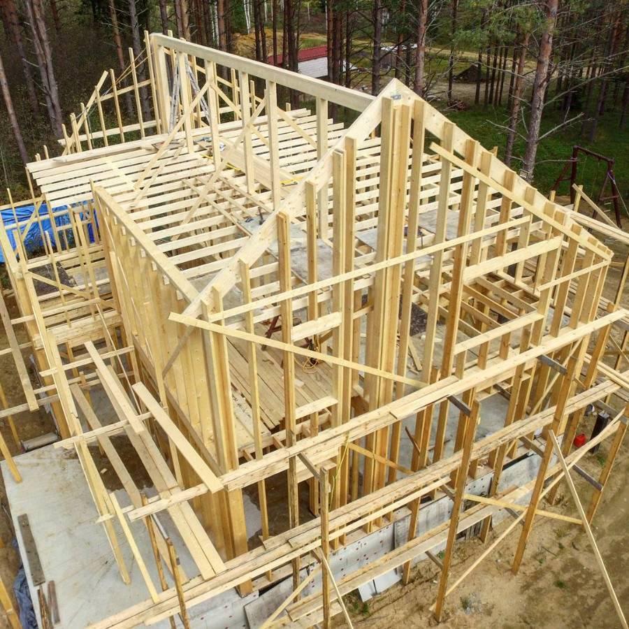Скандинавский каркасный дом - строим дом по скандинавской технологии своими руками