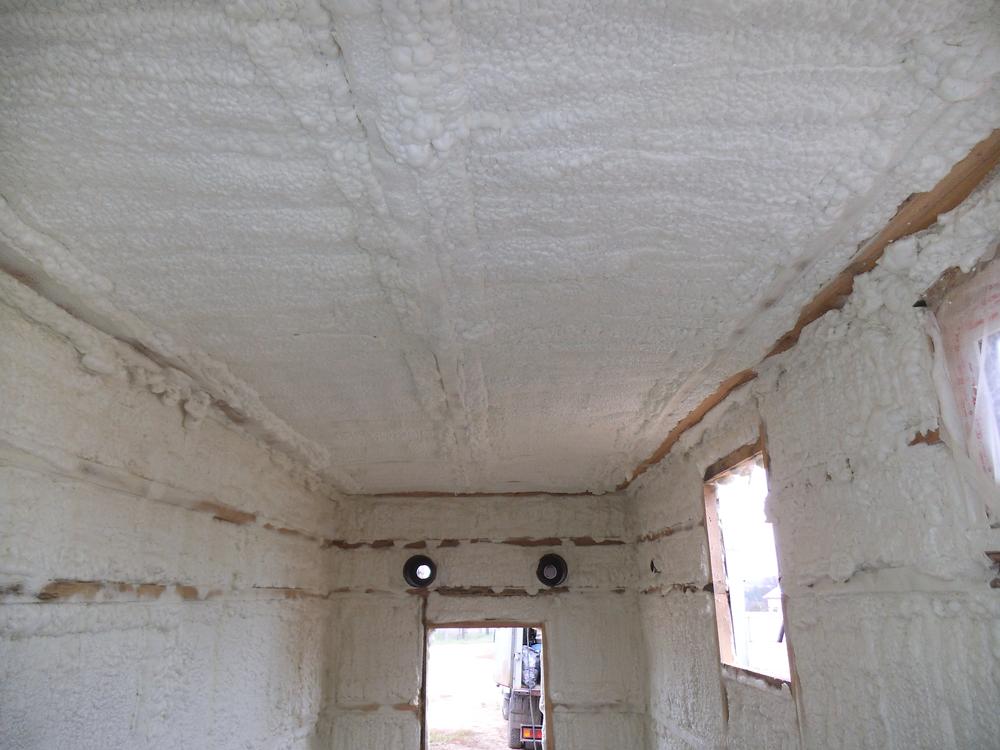 Утепляем гараж пенополиуретаном в москве