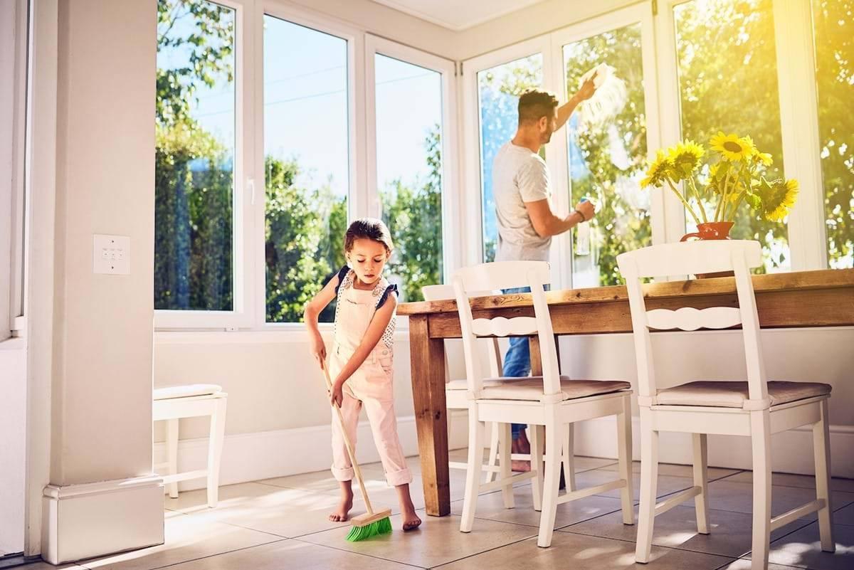 Как быстро и чисто убрать дом: полезные советы