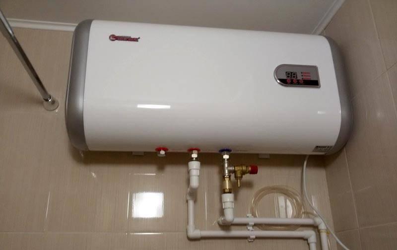 Установка водонагревателя своими руками за несколько часов