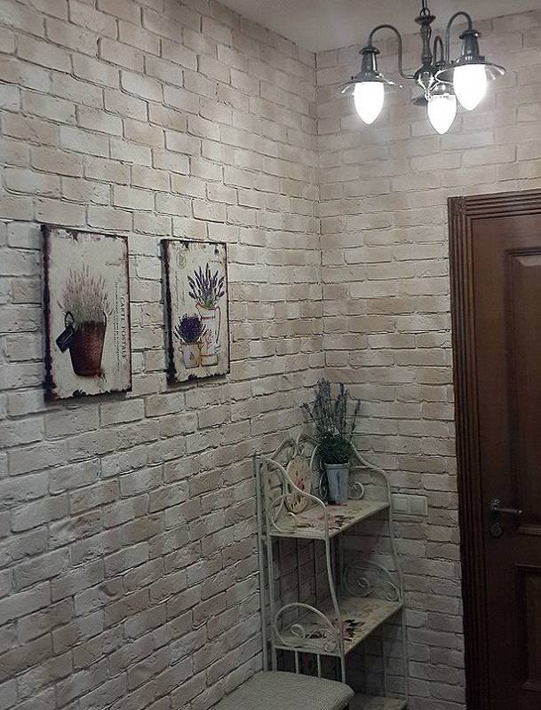 Декоративный кирпич в интерьере: подбираем стиль
